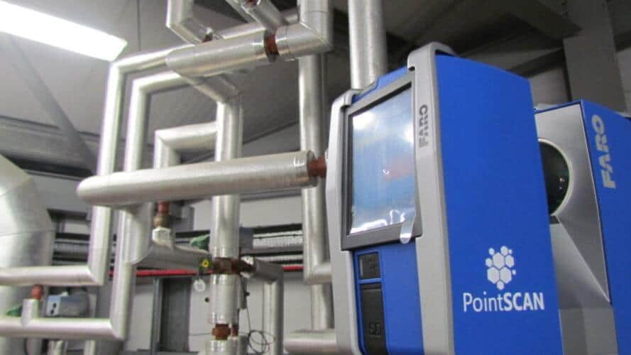 PointSCAN 3D laser surveys provide accurate BIM data