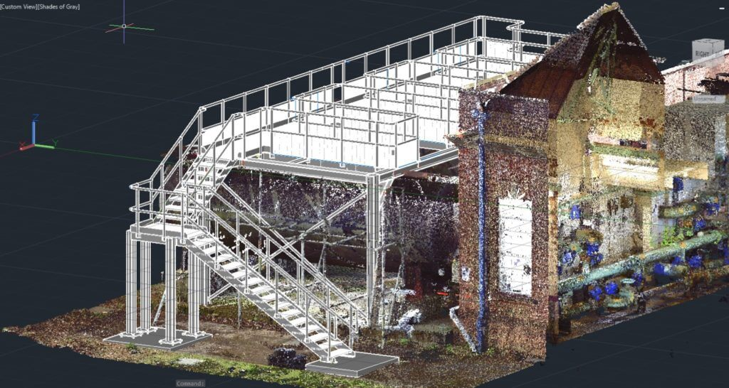 3D laser scanning for water and wastewater engineering projects.