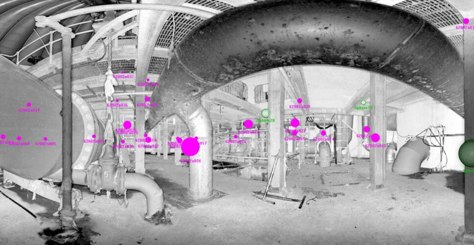 3D laser scanning in confined spaces with PointSCAN 3D laser surveys