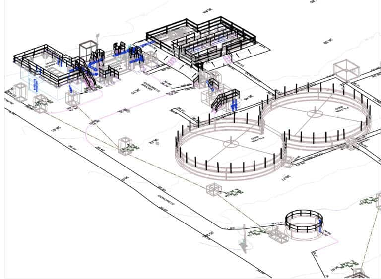 Topographical 3D measurement data by PointSCAN 3D laser surveys