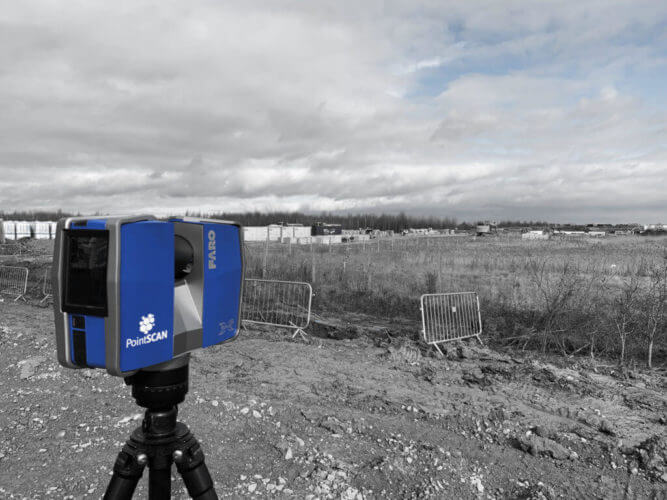Land Survey could be anywhere in the UK.