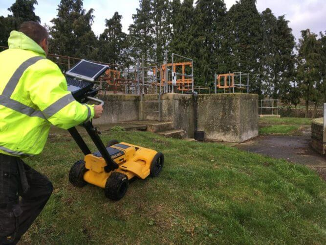 PointSCAN combine GPR with 3D topographic surveys
