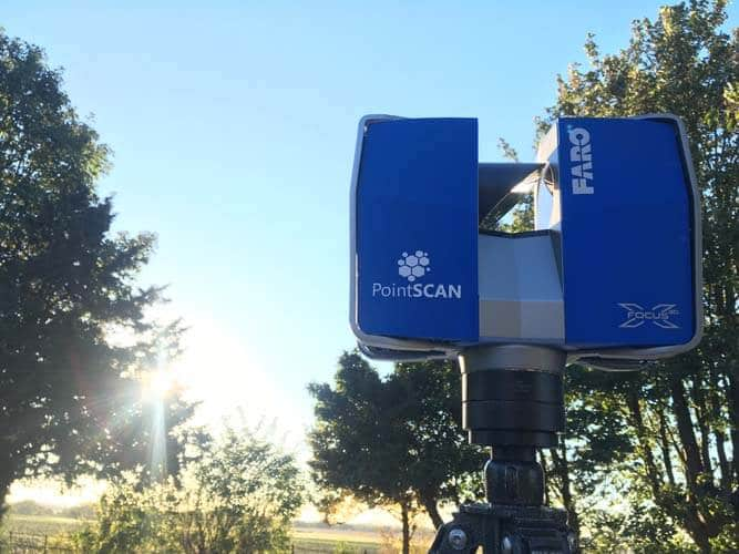 PointSCAN 3D laser scanning Tree survey