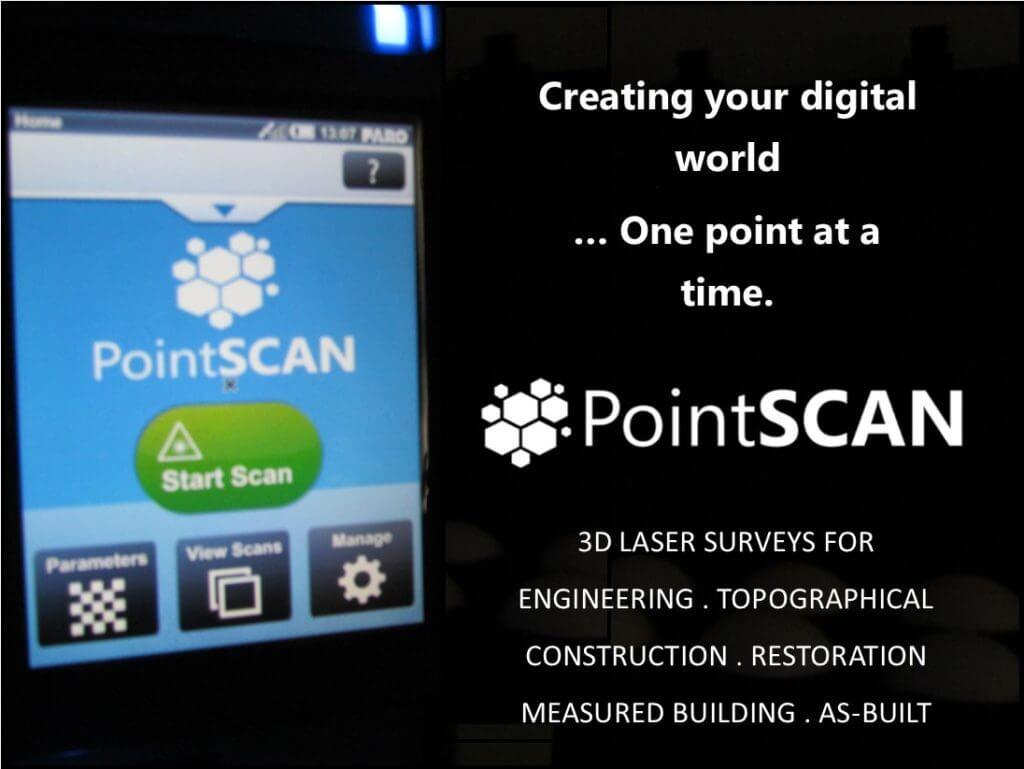 PointSCAN No1 for 3D laser scanning