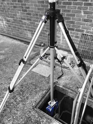 laser scanning in confined spaces