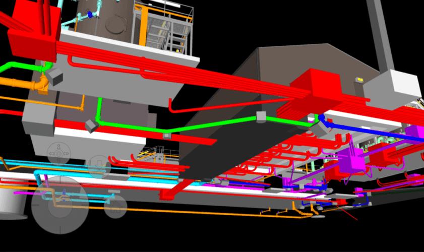 BIM Clash detection with 3D laser surveys