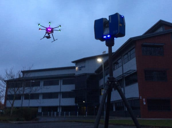 UAV Drone and 3D laser scanning surveys