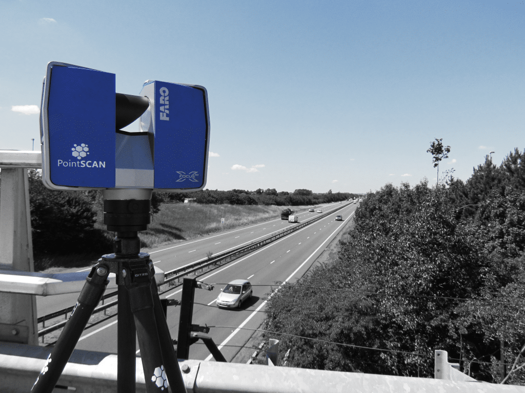 3D topographical Survey for infrastructure projects