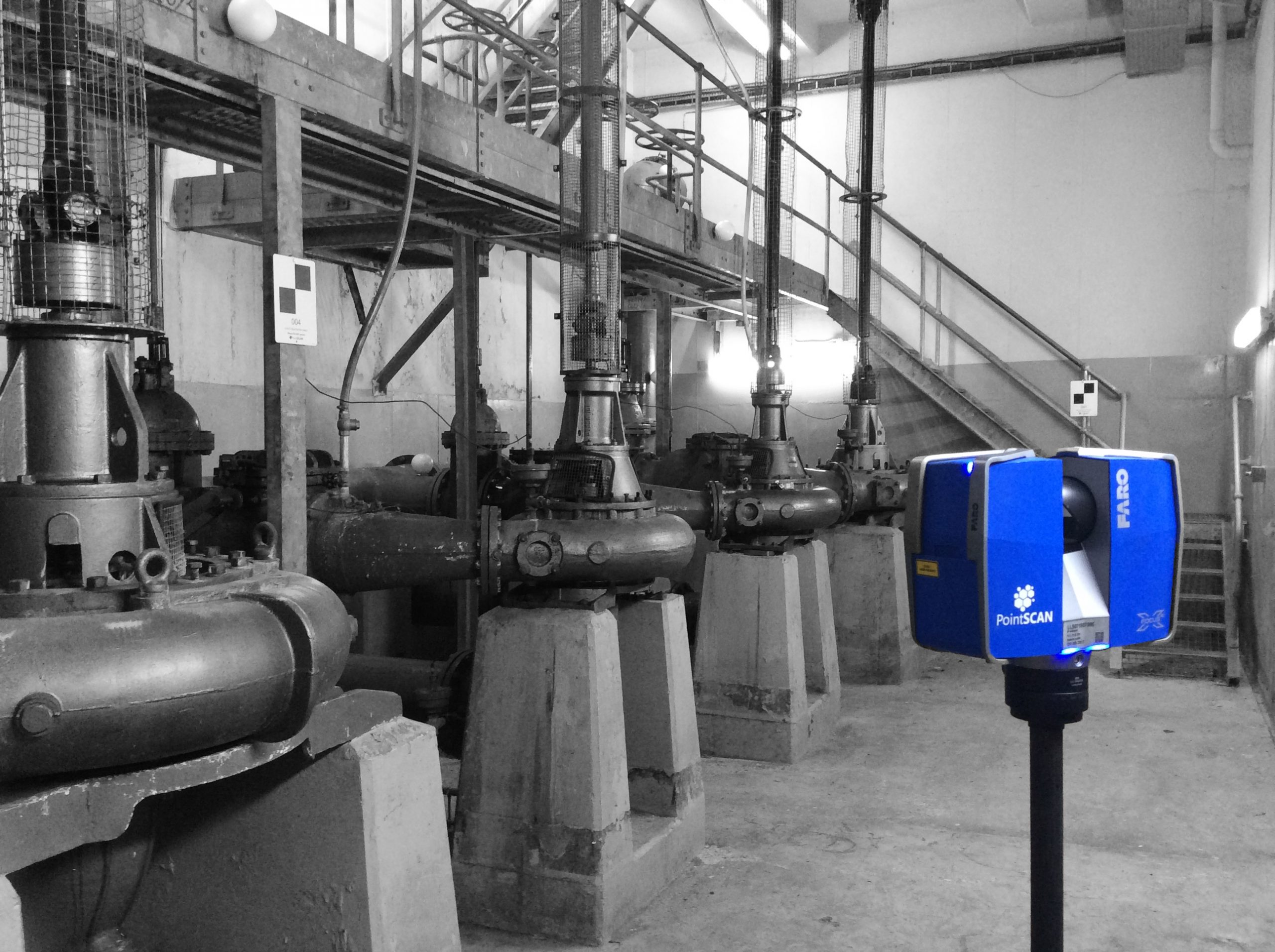 Accurate measurement data for pumping station design in UK