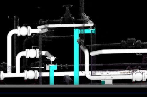 PointSCAN 3D laser surveys as built applications