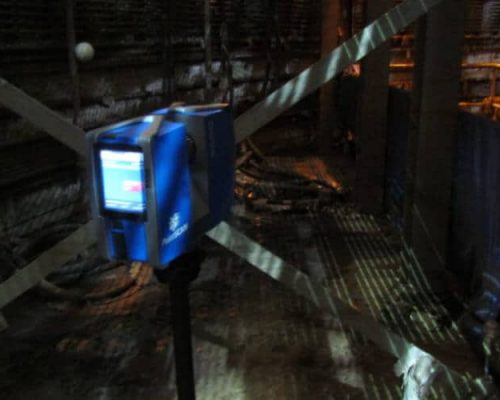 3D laser scanning in confined spaces