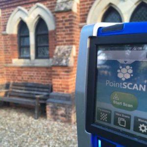 PointSCAN 3D laser scanning Heritage Survey