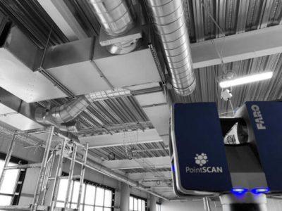 BIM Measured building survey by PointSCAN 3D laser survey
