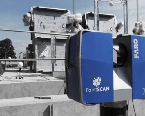 Water and wastewater engineering and fabrication drawings completed bt PointSCAN 3D laser scanning