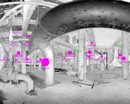 3D laser scanning in confined spaces with PointSCAN 3D laser surveys